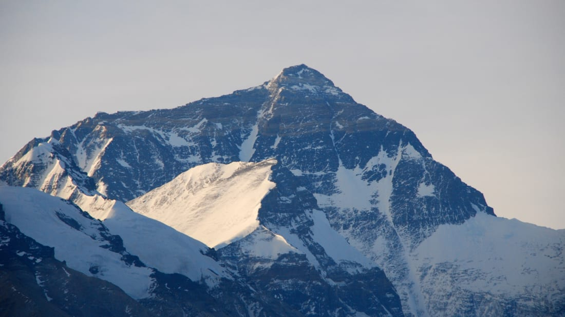 Mount Everest has increased in stature.