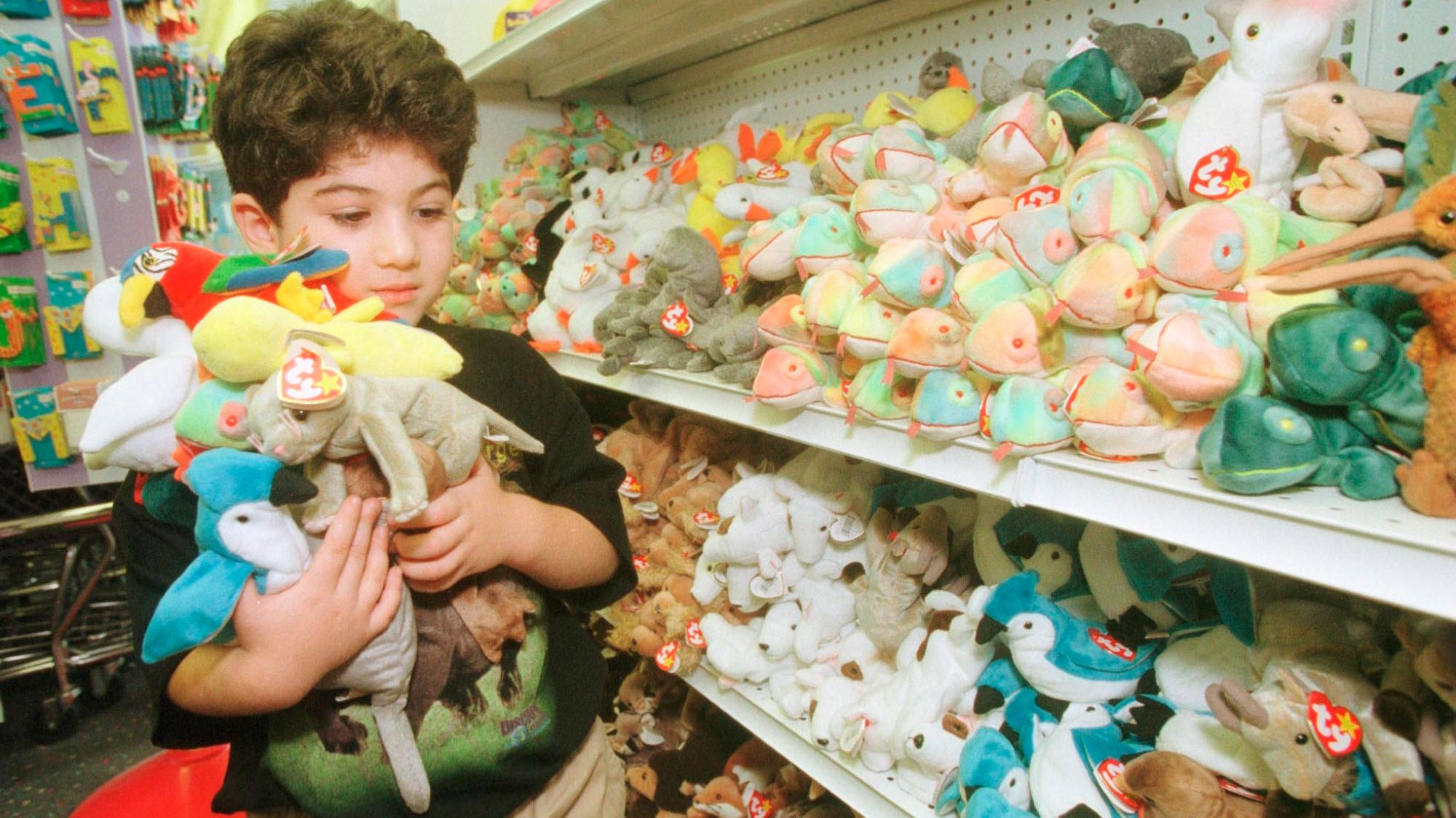A $50,000 Beanie Baby? See What Your Beloved '90s Toys Are Worth With This Interactive Chart