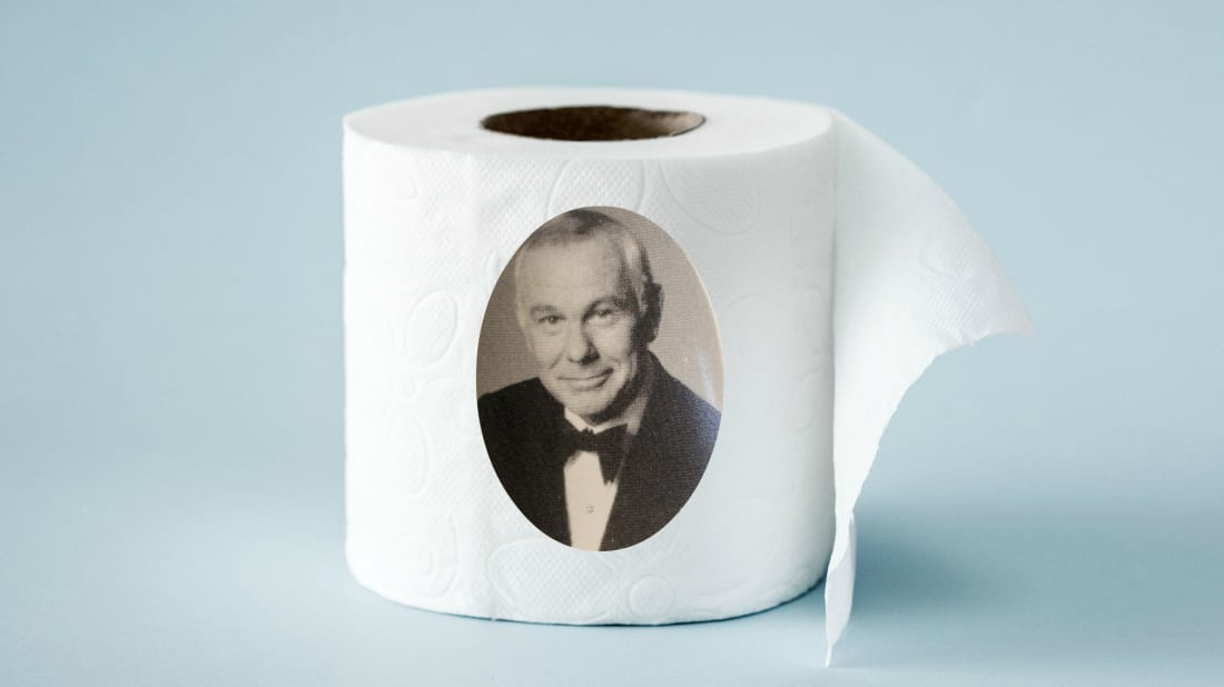 In 1973, Johnny Carson accidentally prompted mass panic over toilet paper.