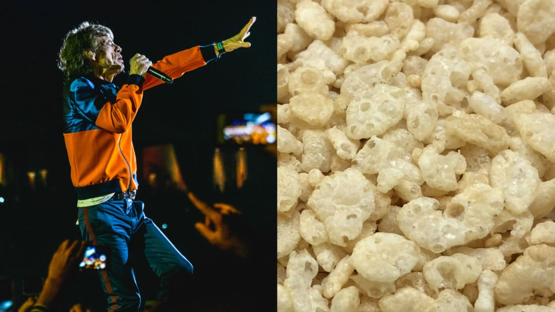 The Rolling Stones and Rice Krispies once collaborated.