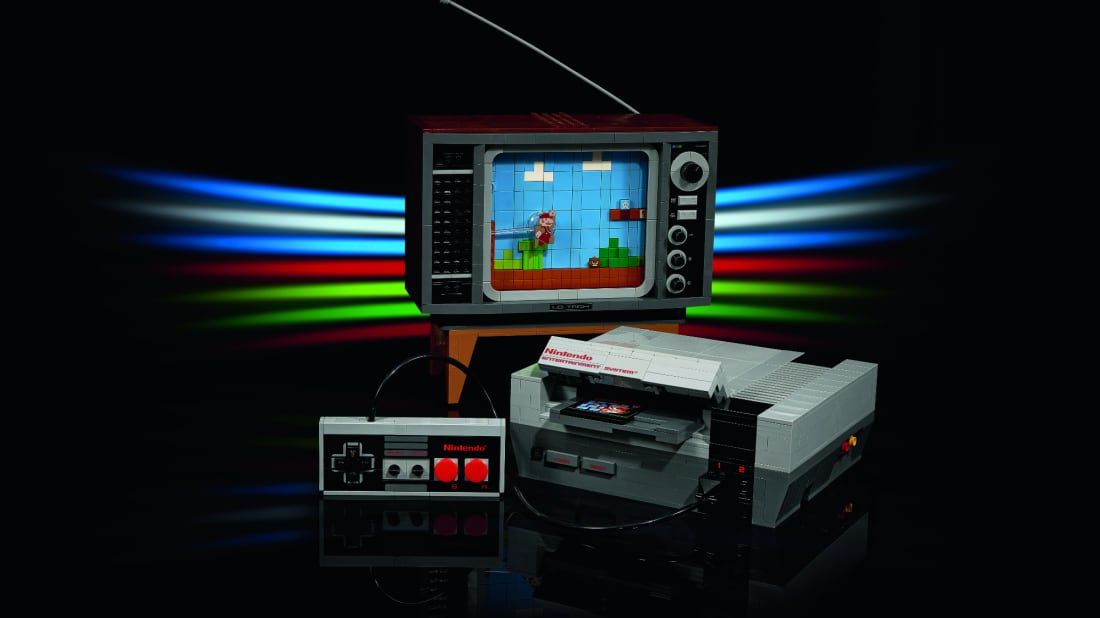 The LEGO Nintendo Entertainment System Building Kit.