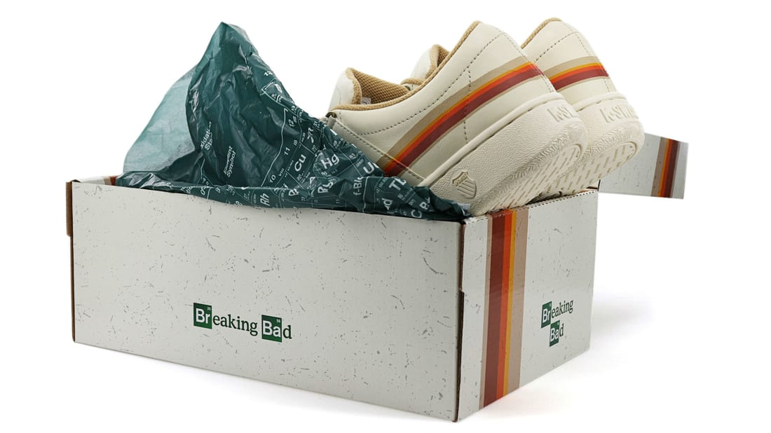 Breaking Bad lives on in sneaker form.