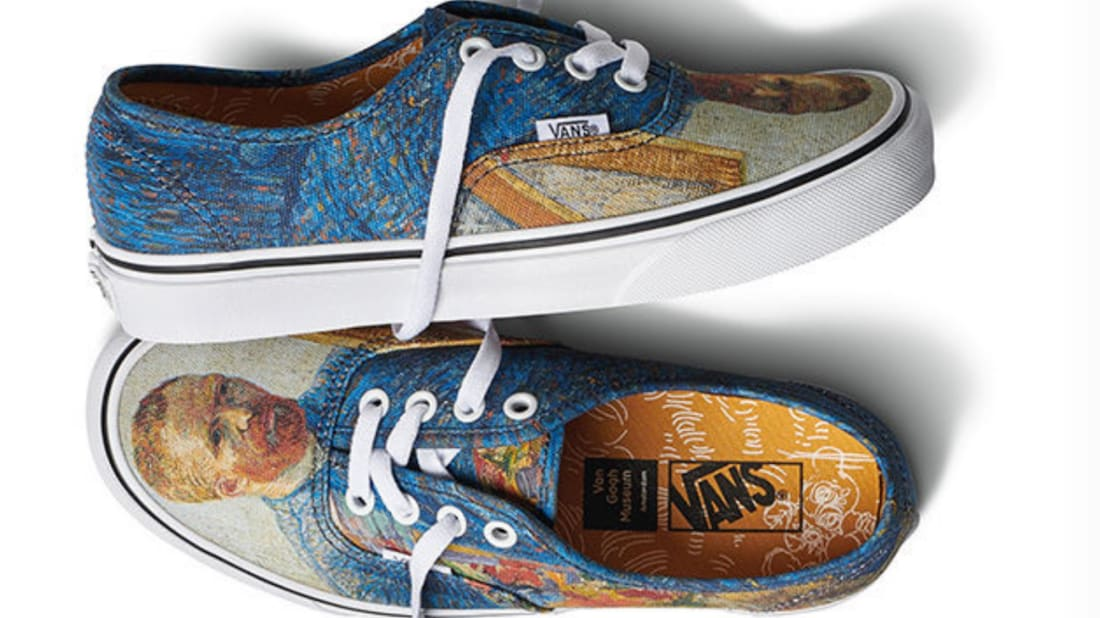 ef738b0b92 Vans and the Van Gogh Museum Want to Turn Your Sneakers Into Works of Art