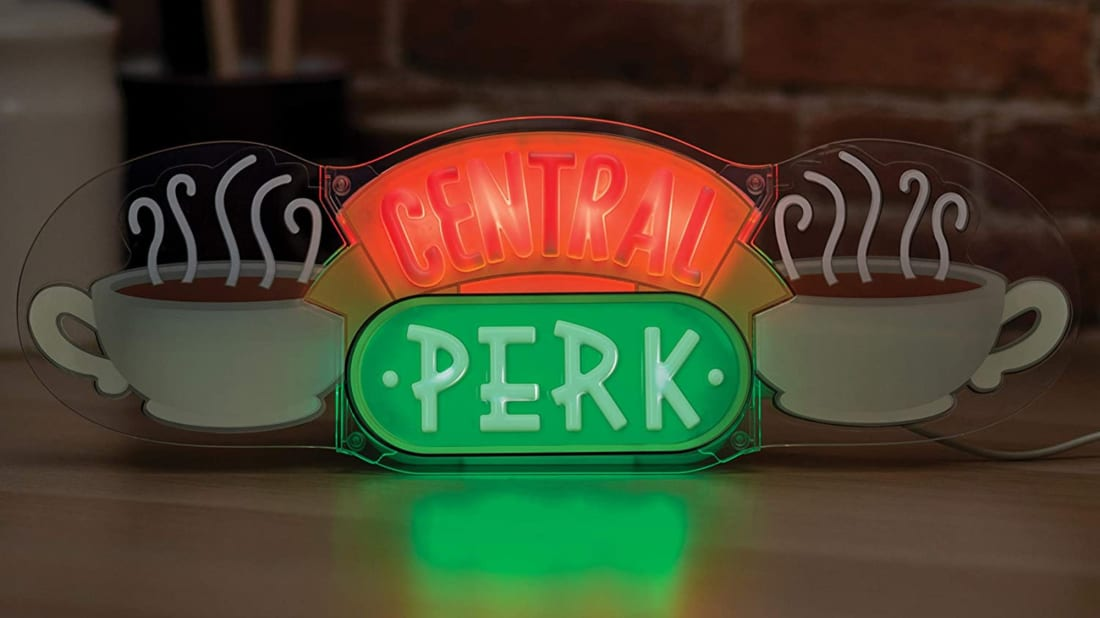 Make any room a Central Perk hangout with this Friends LED neon light.