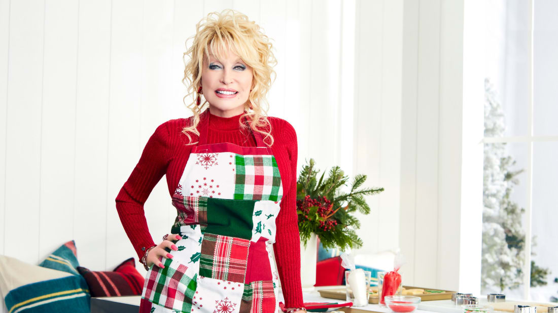 Dolly Parton has a new line of holiday home goods.