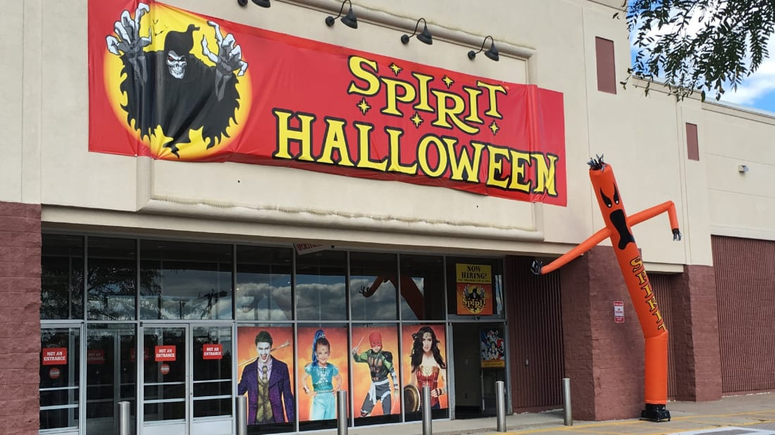 Spirit Halloween stores are a sign Halloween has arrived.