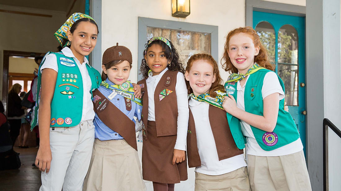 Girl Scouts have a rich history.