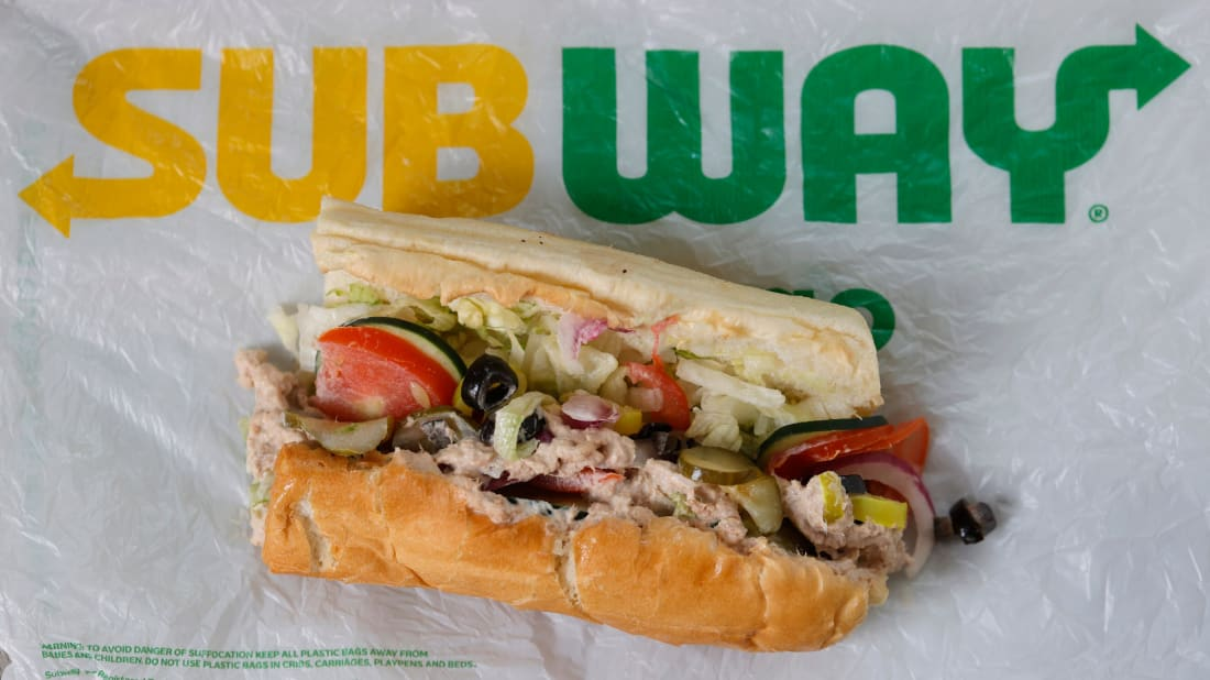 Subway is facing allegations its tuna isn't genuine.