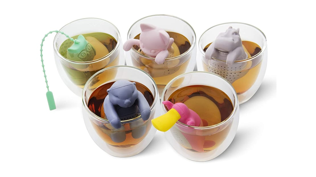 Disposable tea bags can't compete with this pla-tea-pus and his friends.