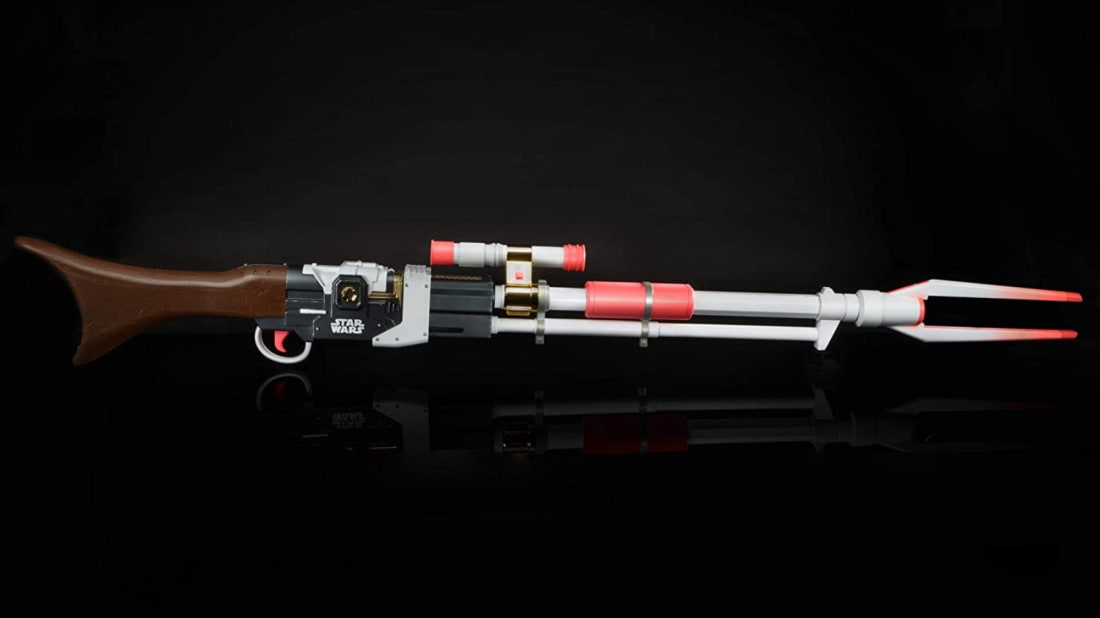 Take care of Imperial scum with this non-lethal weapon from The Mandalorian.
