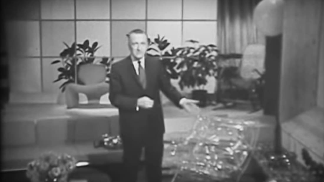 The home of the future was previewed in 1967.
