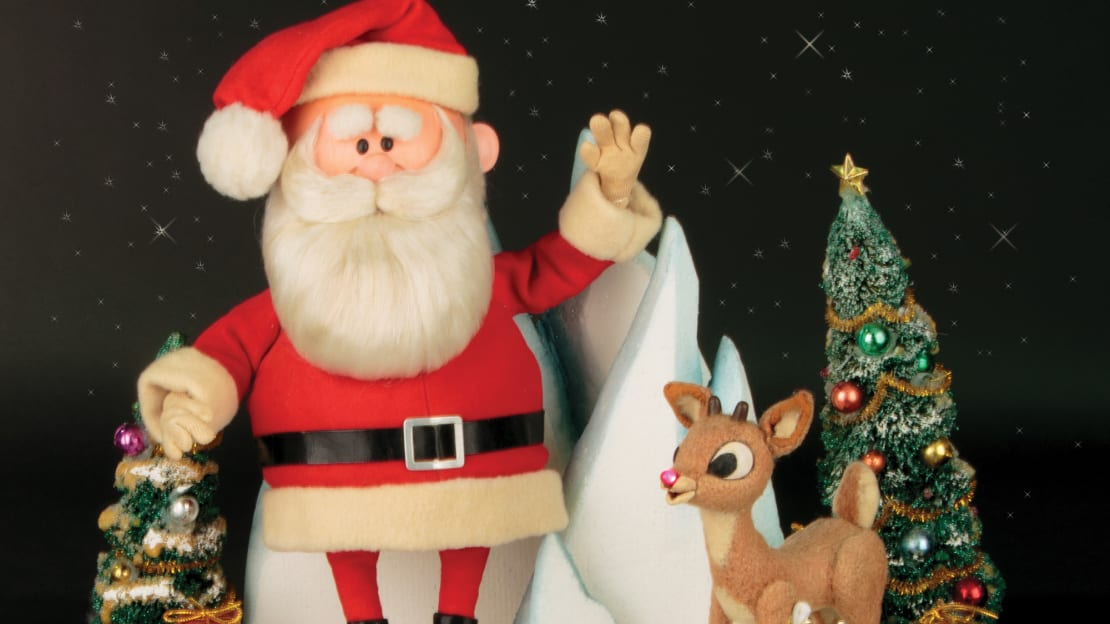 The original puppets used in 1964's Rudolph the Red-Nosed Reindeer television special are up for sale.