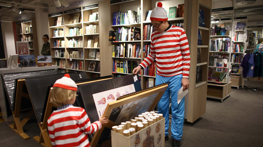 In England, Waldo is known as Wally.