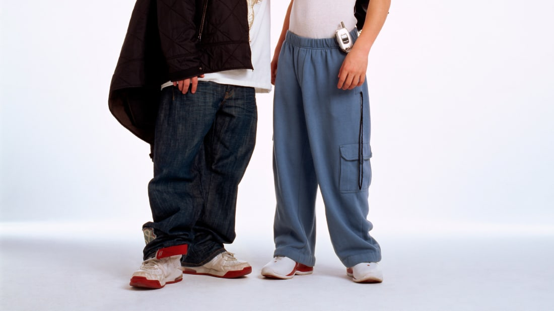 JNCO jeans had kids literally tripping over themselves.