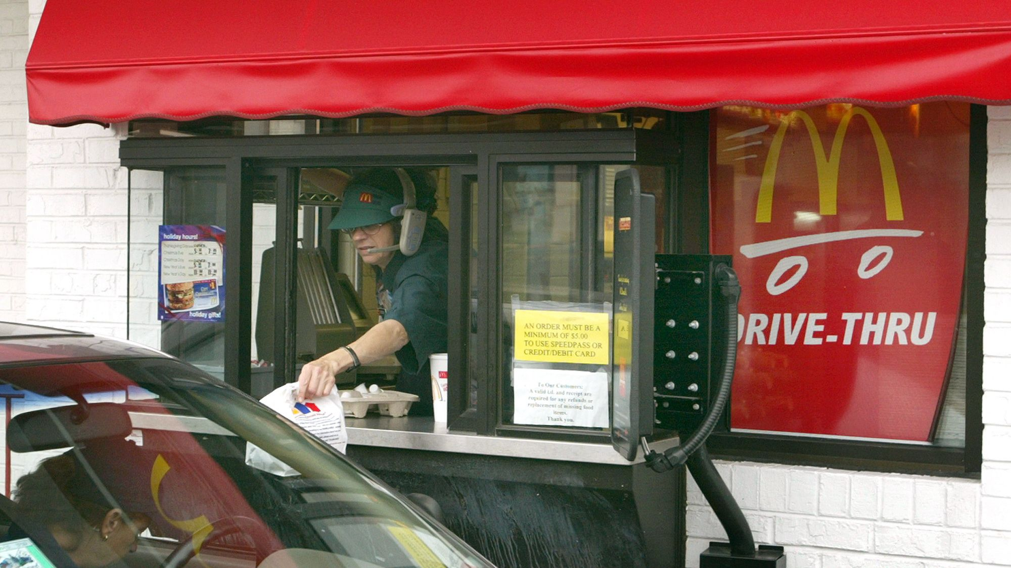 The First McDonald's Drive-Through Window in 1975 Was for the Military