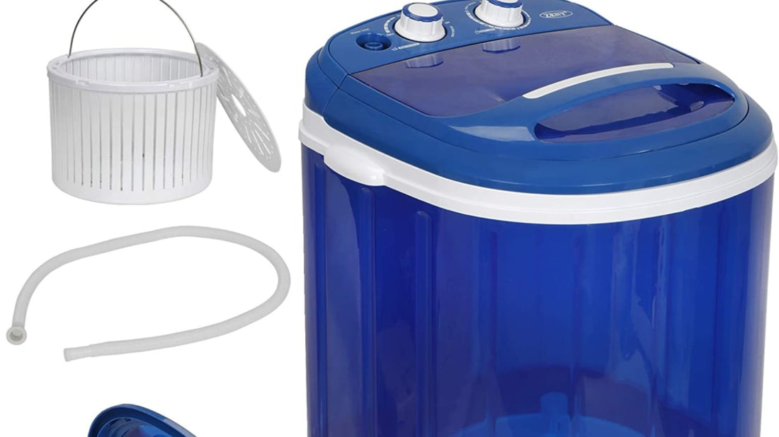 The ZENY portable washer.