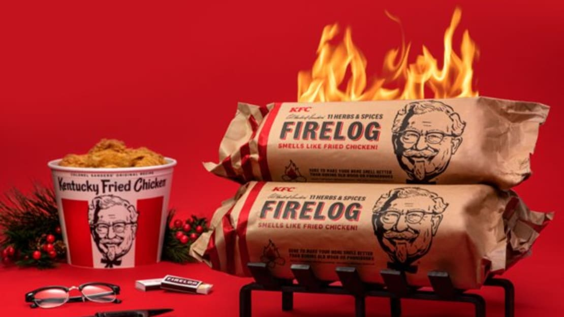 Forget the smell of warm cookies. Your home can now smell like fried chicken.