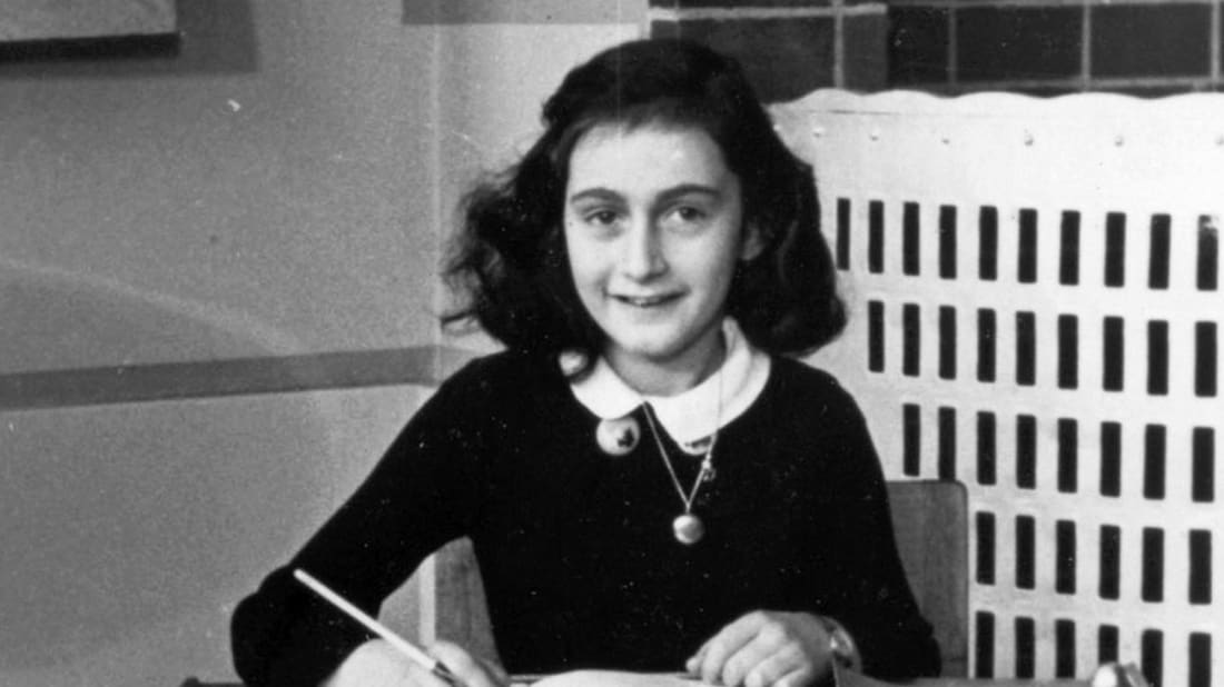 Anne Frank Stichting, Amsterdam, Public Domain, Wikimedia Commons