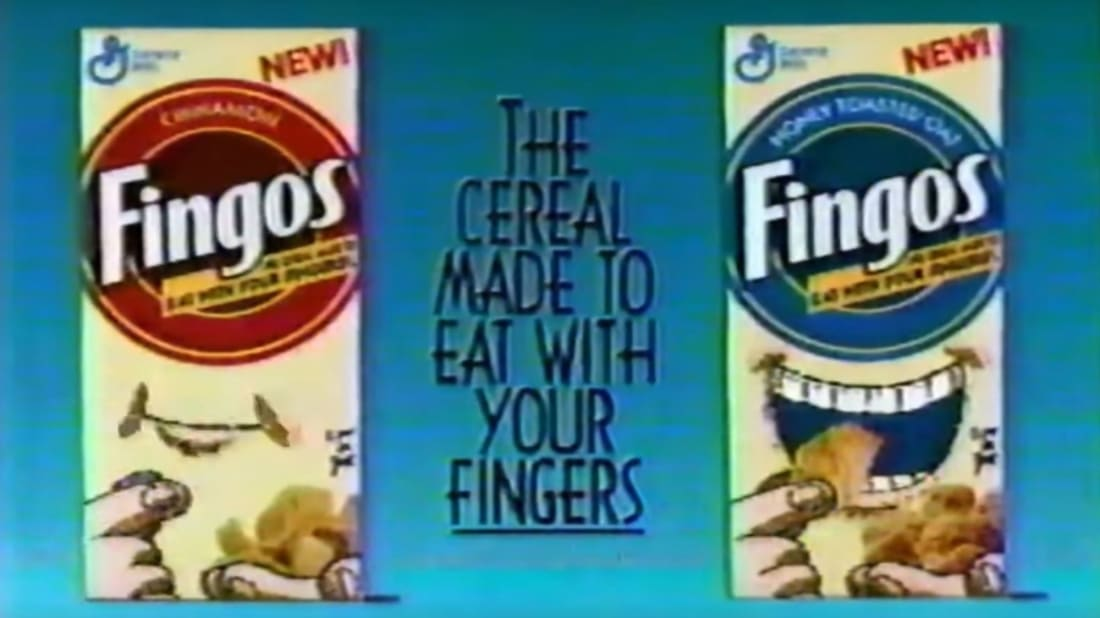 General Mills was confident Fingos would be a cereal smash.