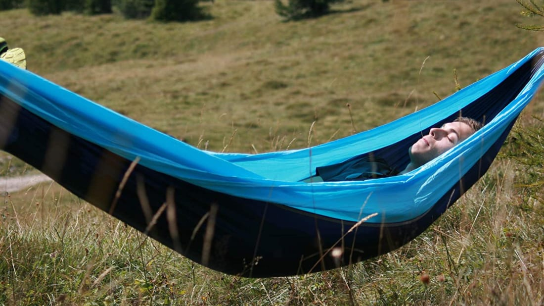 The Wise Owl Outfitters hammock.