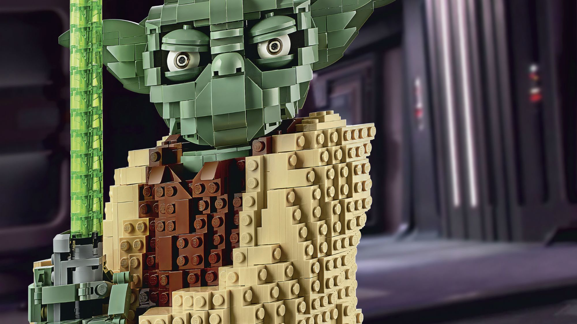 A Towering 1771-Piece Yoda Leads a New LEGO Star Wars Collection
