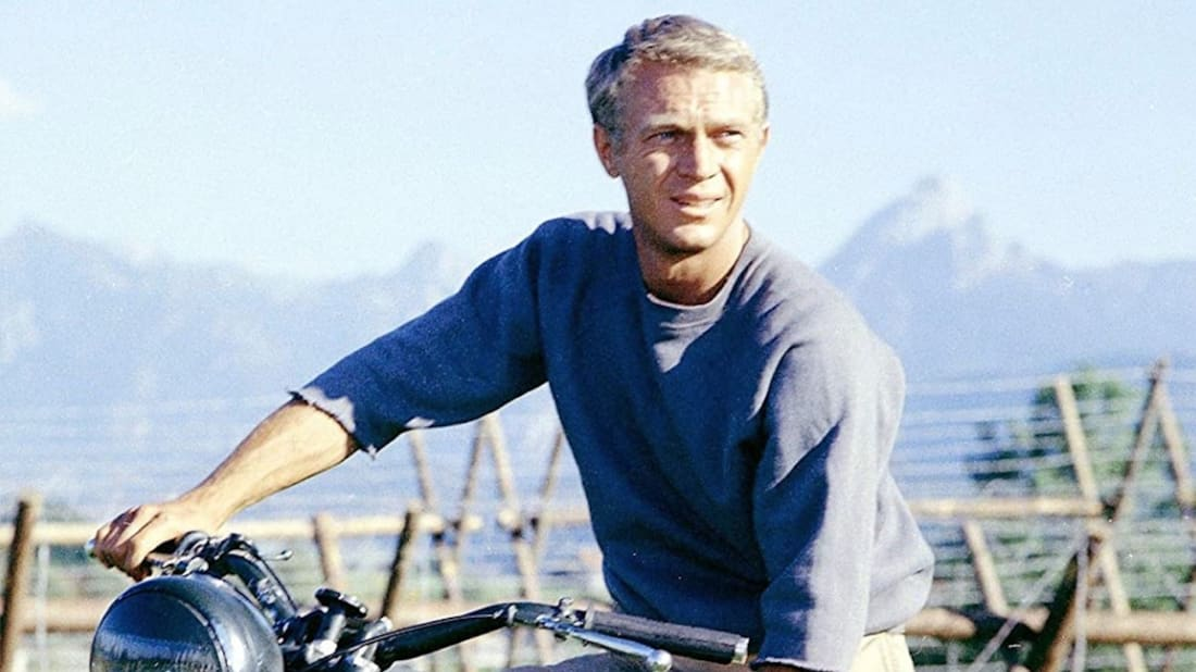 Steve McQueen stars in The Great Escape (1963).