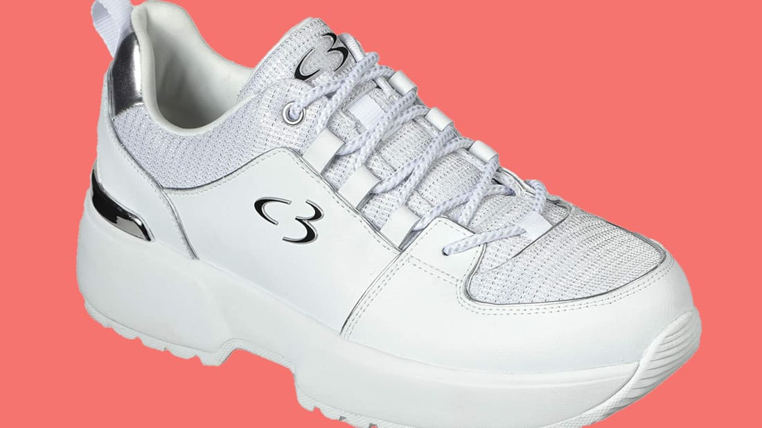 Concept 3 by Skechers Women's Beyond Fresh Lace-up Fashion Sneaker.