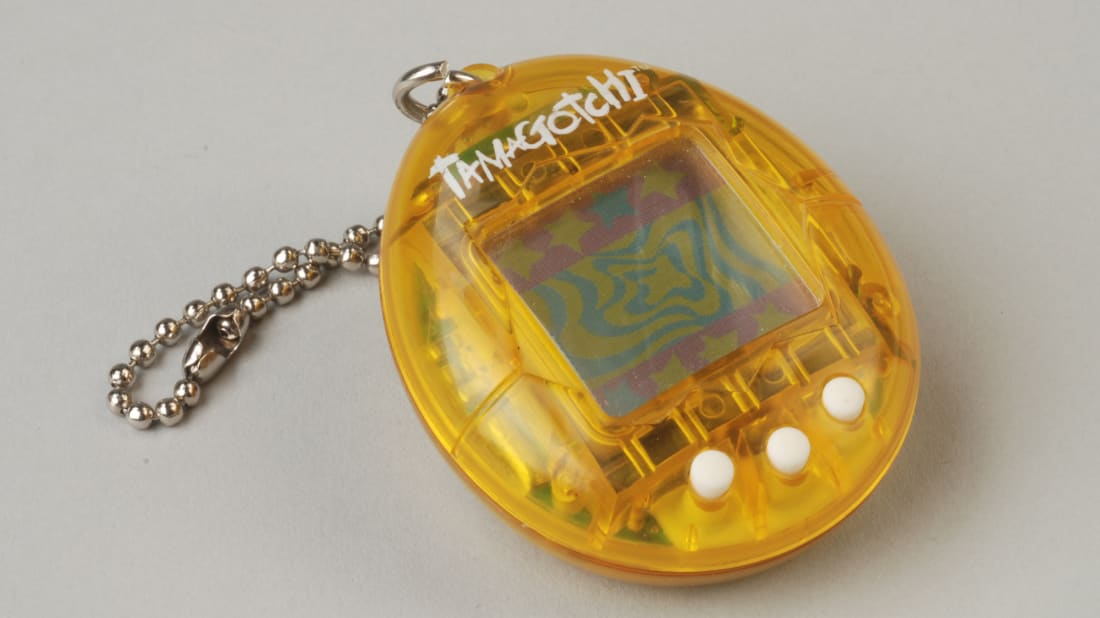 The Tamagotchi was a primitive--and popular--toy from the 1990s.