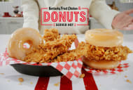 KFC is bringing doughnuts to the table.