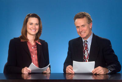 News anchors have mastered the art of being linguistically neutral.