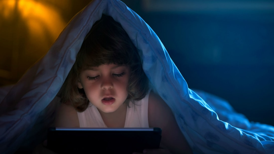 Put Down the Tablet! New Study Suggests Too Much Screen Time May Affect Children's Cognitive Development