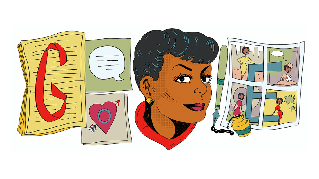 In September 2020, Google honored Jackie Ormes with a Google Doodle by artist Liz Montague.