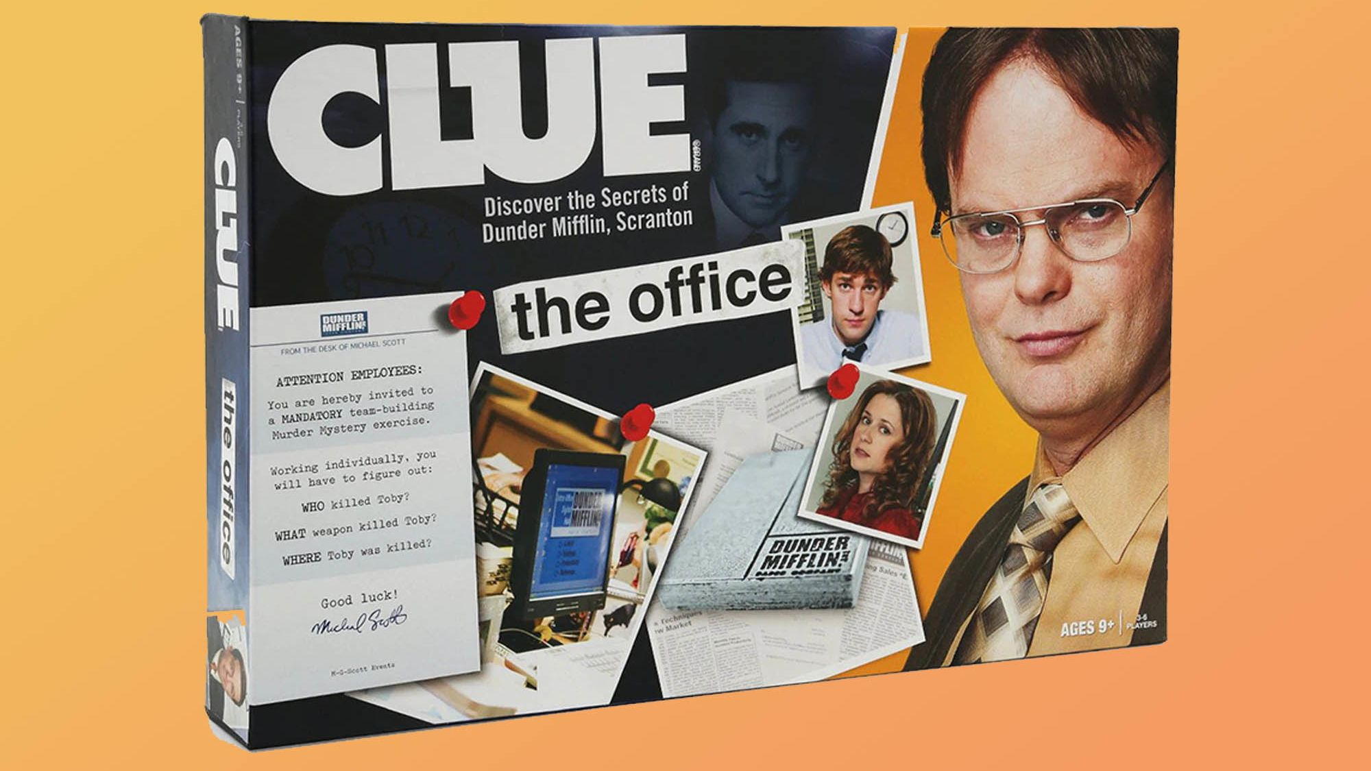 This New The Office-Themed Clue Board Game Lets You Solve the Murder of Toby Flenderson