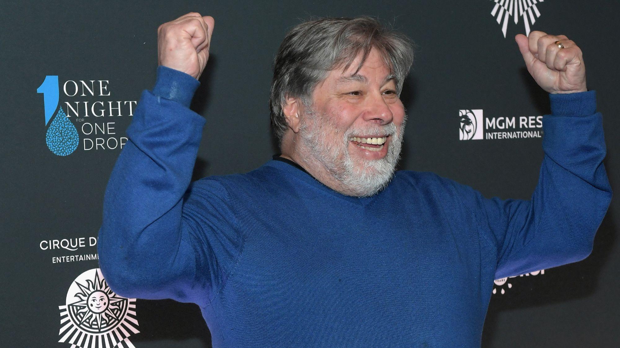 Steve Wozniak Wants to Clean Up Space Trash