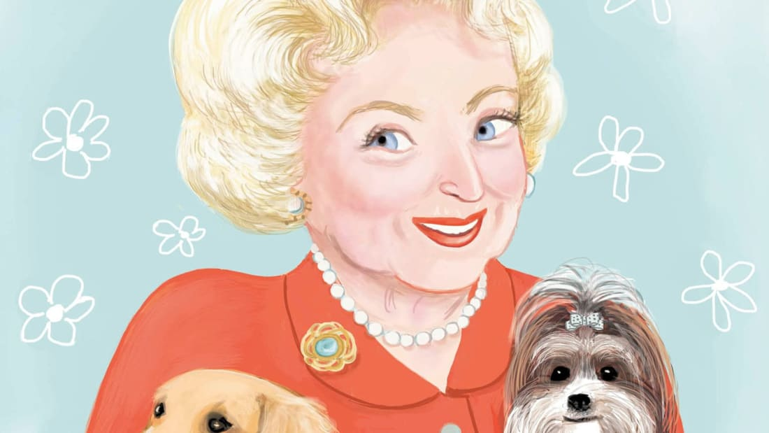 My Little Golden Book About Betty White.