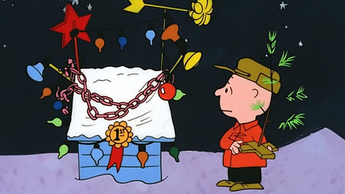 A still from A Charlie Brown Christmas (1965).