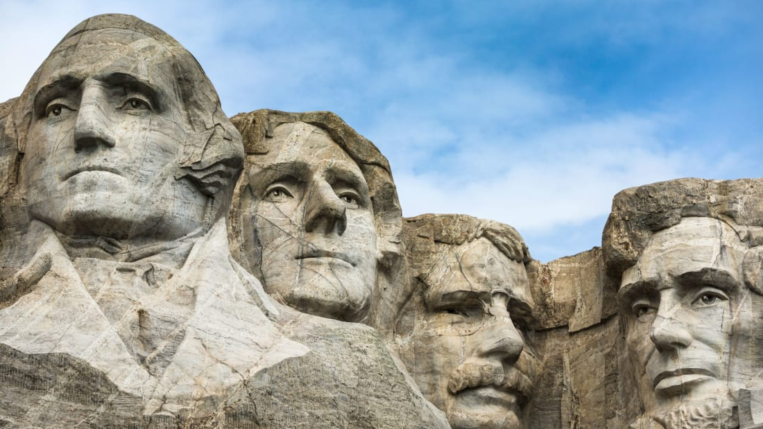 Washington and Lincoln share Mount Rushmore, but not President's Day.