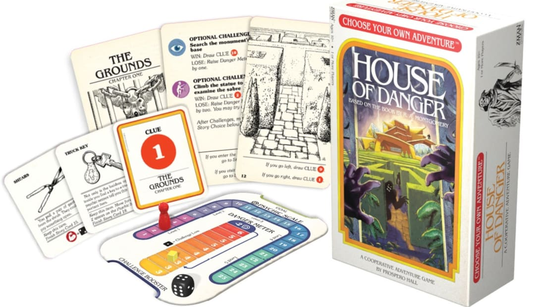 Choose Your Own Adventure: House of Danger.
