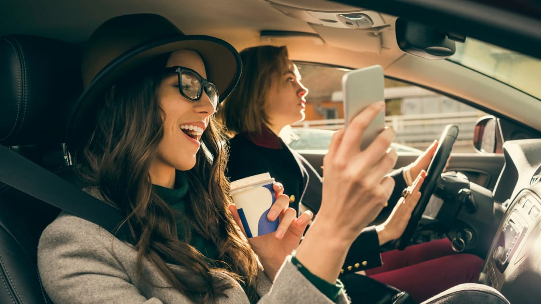 The HearHere app offers audio stories that relate to the things and places you see during a road trip.