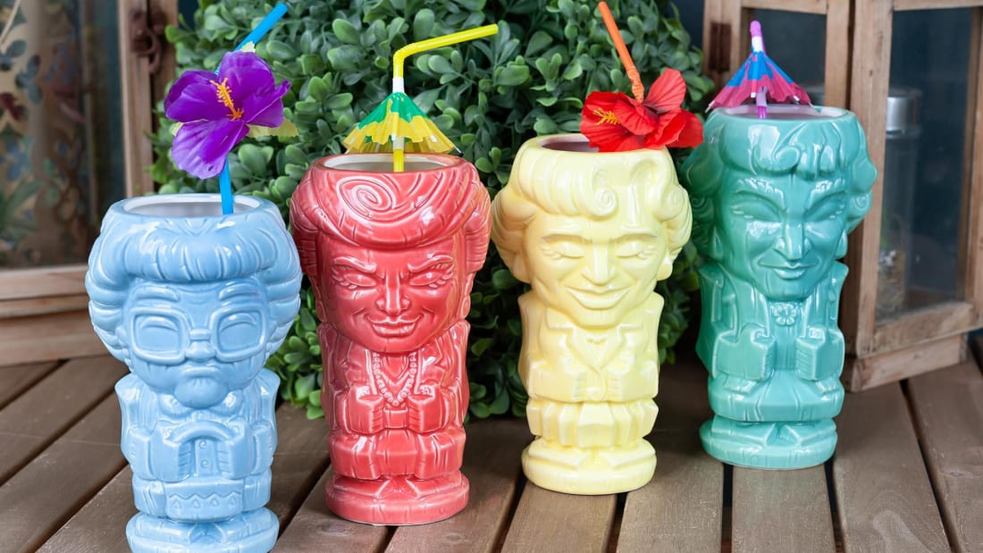 The Golden Girls, now in tiki mug form.