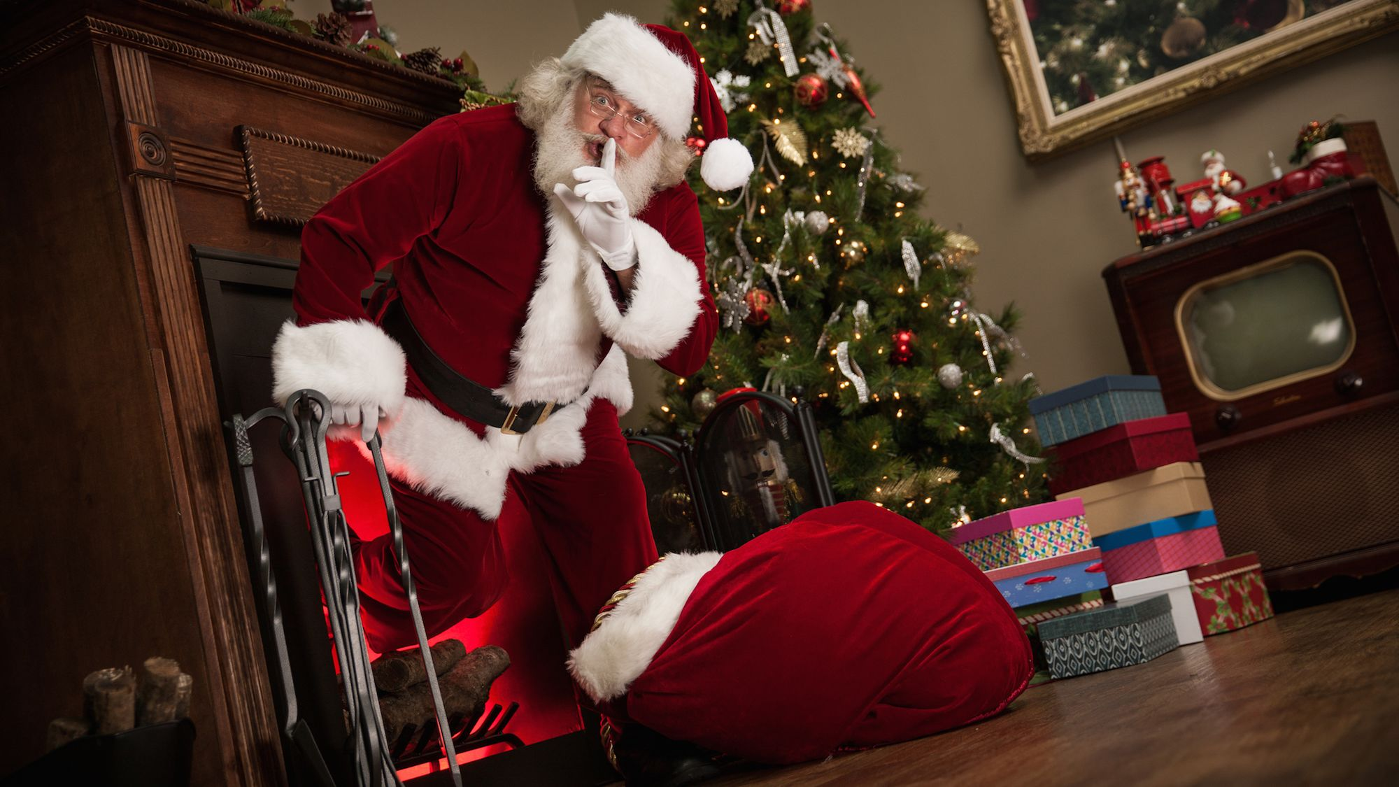 Why Does Santa Claus Come Down the Chimney? | Mental Floss