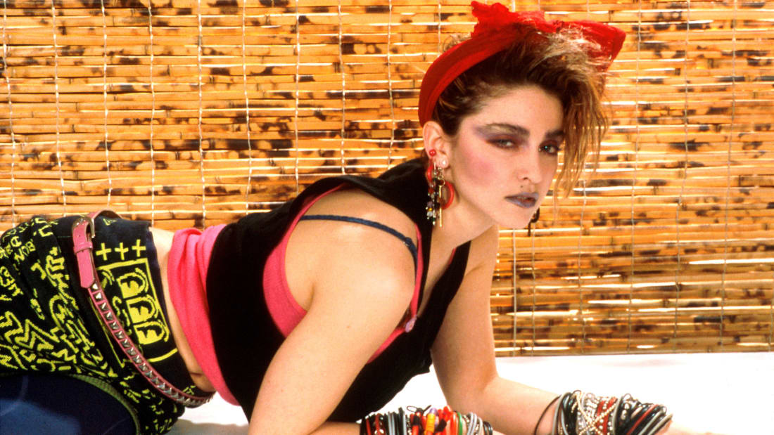 Madonna in 1984.