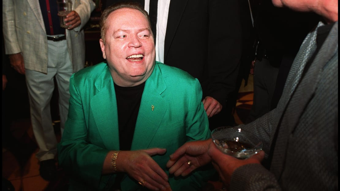 Hustler publisher Larry Flynt lived a life of controversy.