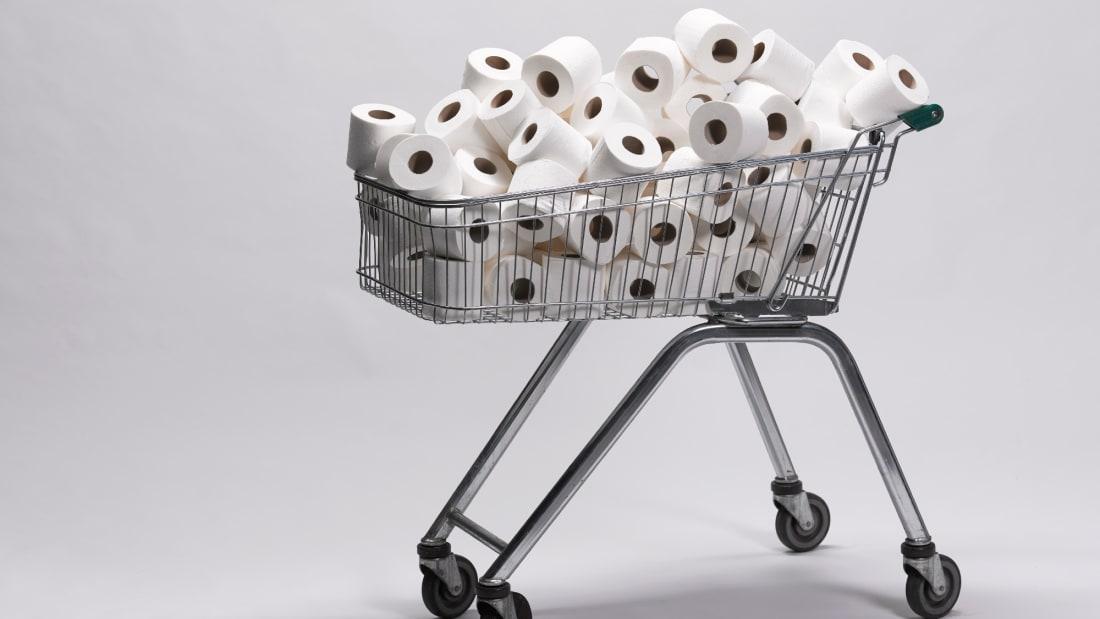 People may soon be hoarding toilet paper like it's 2020.