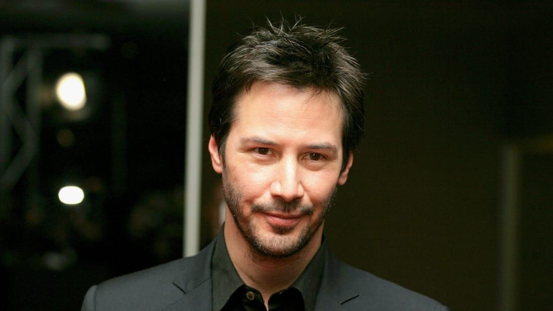 Keanu Reeves in 2008.