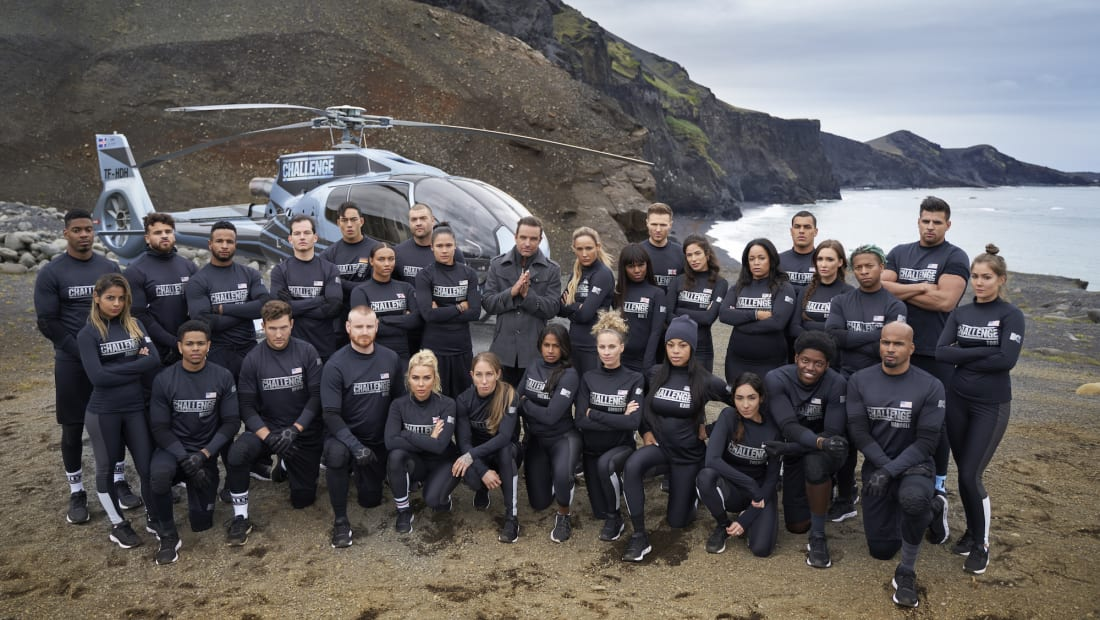 The cast of 'The Challenge: All Stars' (2021) are ready to compete.
