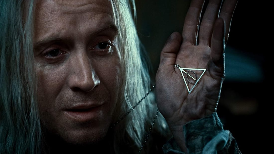 Rhys Ifans in Harry Potter and the Deathly Hallows: Part 1 (2010).