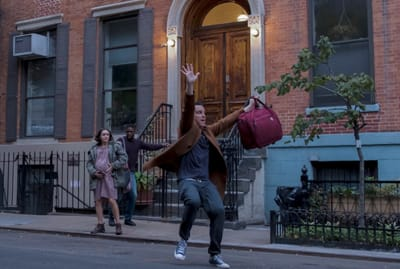 Brandon Kyle Goodman, Olivia Cooke, and Andrew Scott in Modern Love.