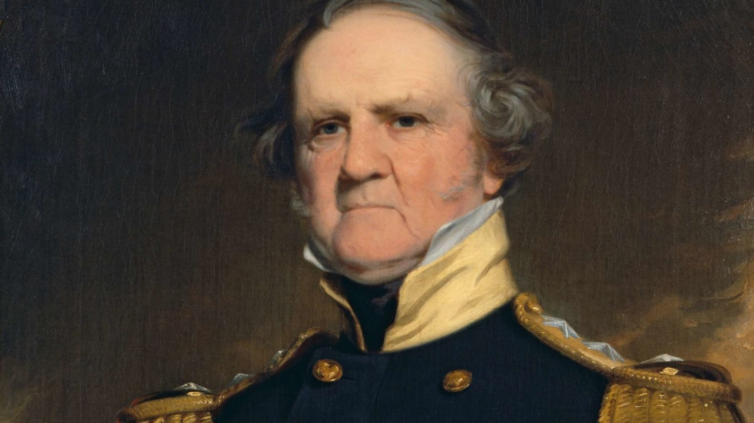General Winfield Scott, the original great Scott (probably).