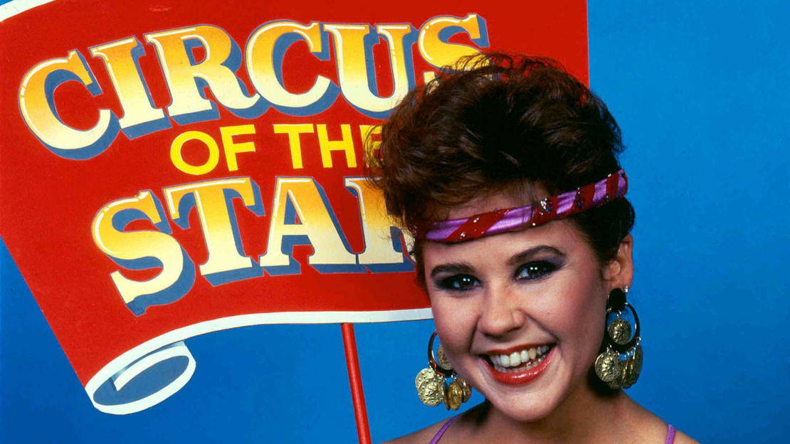 Linda Blair stars in Circus of the Stars 15 (1990).